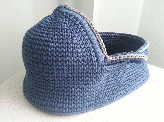 Crochet Pattern Baby Moses Basket Baby Crochet Pattern Crochet Baby