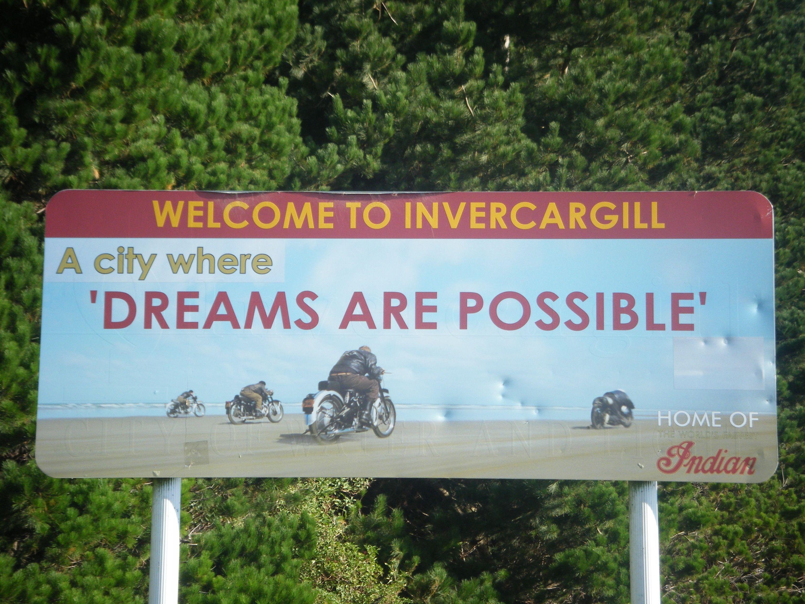 Invercargill...A city where dreams are possible ...