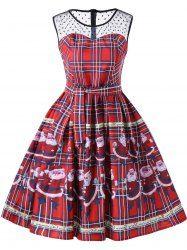Vintage Lace Red Dresses