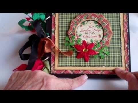 The Night Before Christmas Mini Album - YouTube
