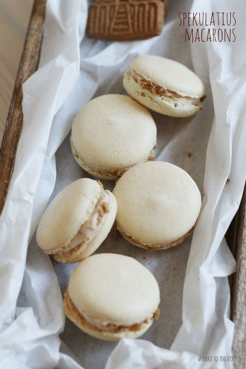 Photo of Christmas Speculoos Macarons | Bake to the roots