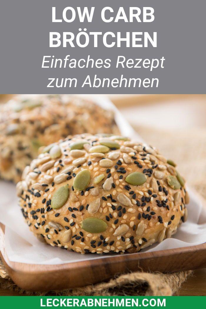 Fluffige Low Carb Brötchen – Rezept zum Abnehmen