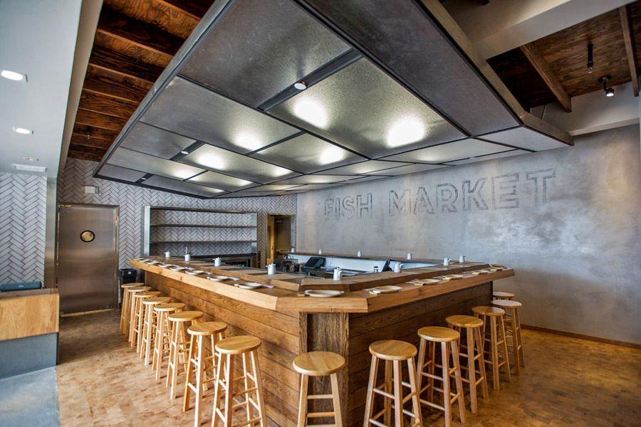 Image result for kazu nori ceiling design restaurant