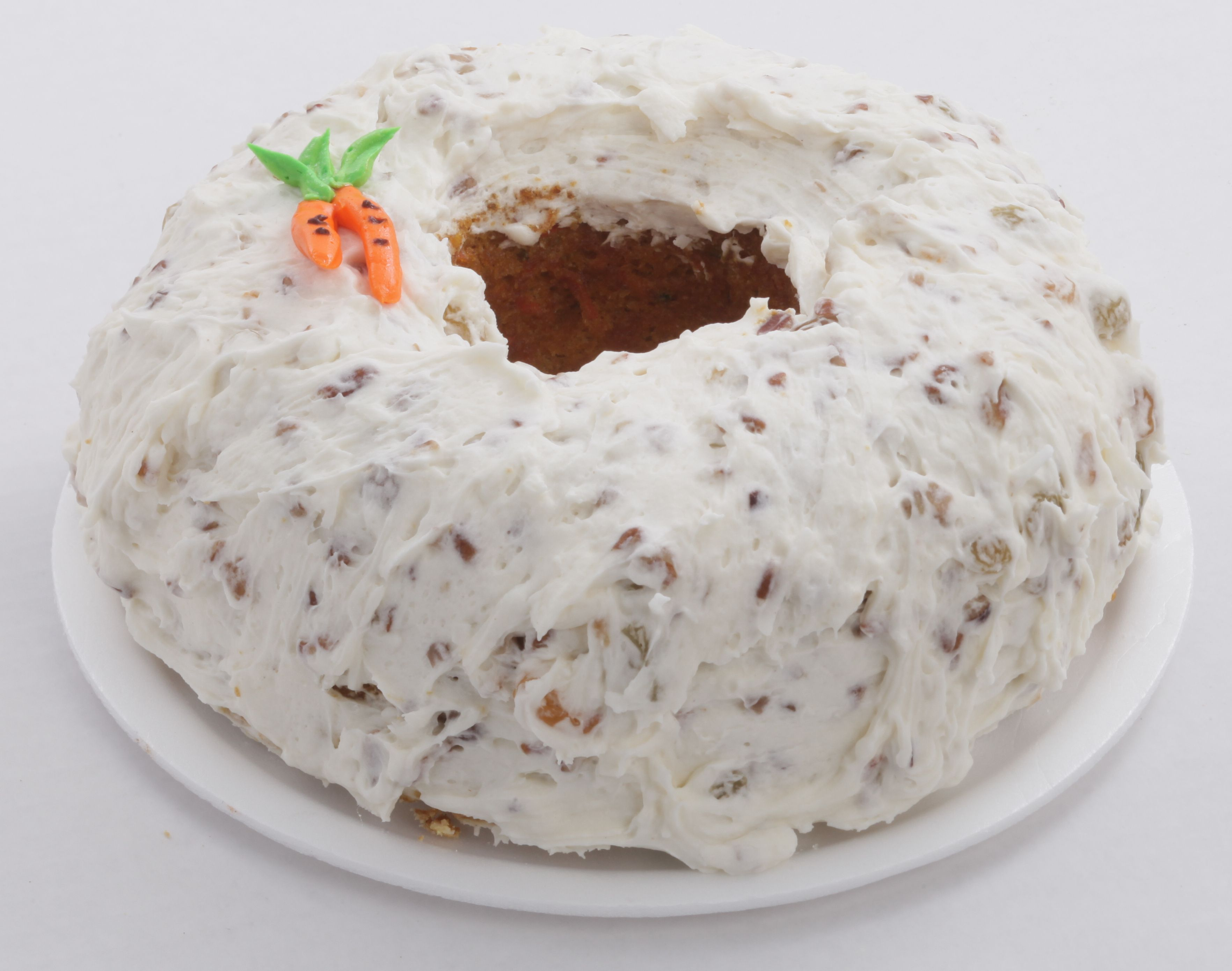 Carrot cake from apple annies bake shop in wilmington nc