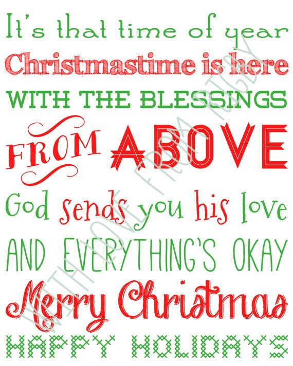 Unavailable Listing On Etsy Christmas Lyrics Merry Christmas Happy Holidays Favorite Christmas Songs