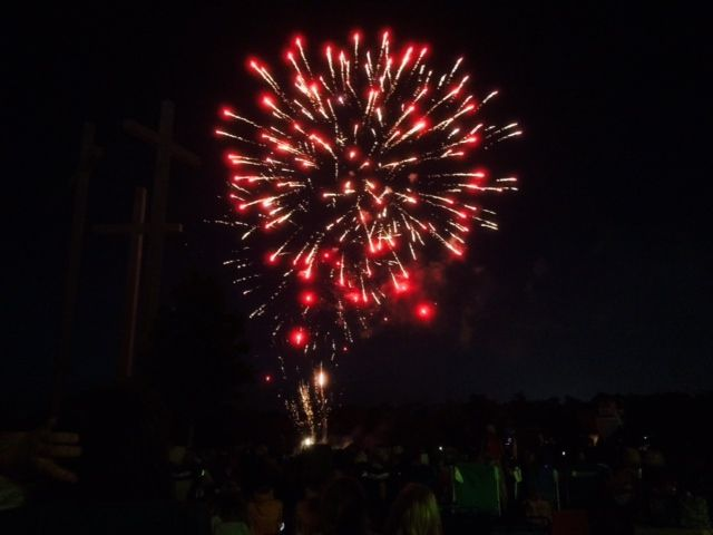 Some great fireworks!