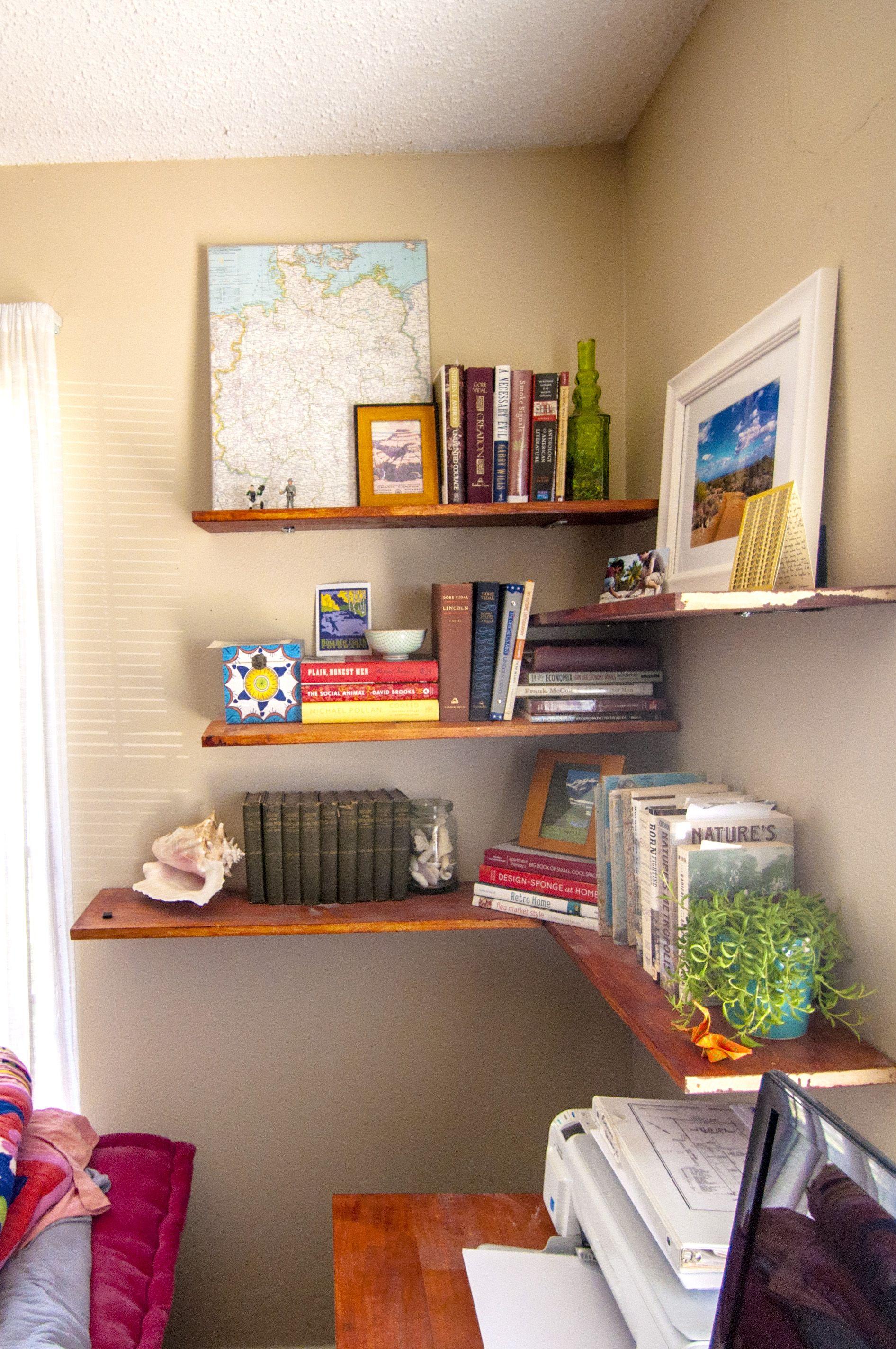 Shelf Life The Doodle House Shelves Corner Shelf Design Corner Shelves
