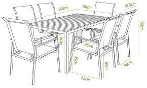 Resultado de imagen de mesa 8 medidas comensales mesa de for Mesa 8 comensales