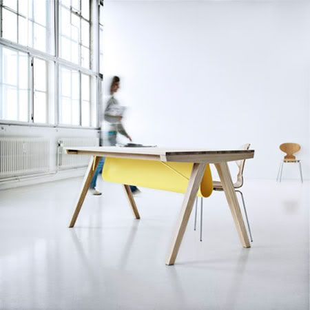 Borrod table by Line Depping