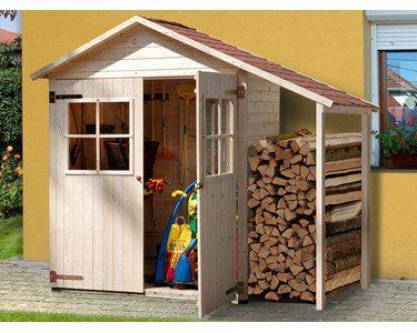 Weka Terrassenschrank Größe 2 mit Doppeltür und
