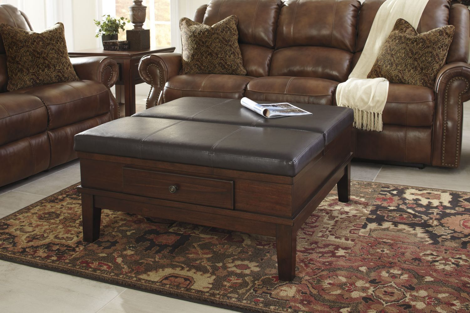 Pin By Cathryn Rillo On Dld In 2020 Ottoman Coffee Table Ottoman Table Leather Ottoman Coffee Table [ 1000 x 1500 Pixel ]
