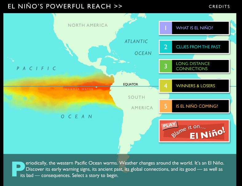 La Nina Has Been Kinder To Madison This >> Interactive Website To Teach Children About El Nino And La Nina
