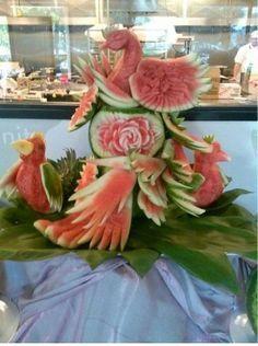 Photo of Food sculptures on Pinterest Die Mangostanfrucht ist nix rein