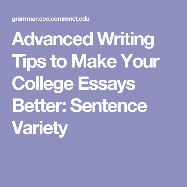 advanced essay writing techniques