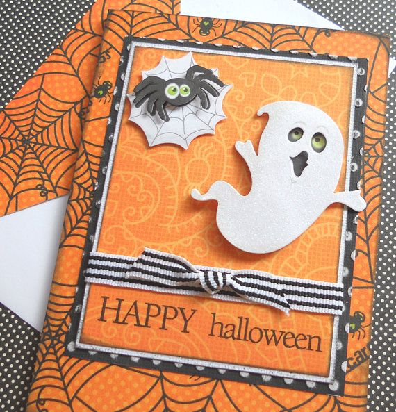 Awesome Halloween Card Making Ideas Part - 1: Halloween Cards | IDEAS FOR MAKING ELEGANT HOMEMADE HALLOWEEN CARDS |  Family Holiday
