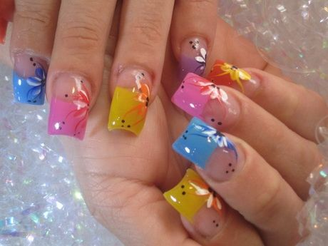 Spring Summer Nails For 2015 Google Search Nail Art Pinterest