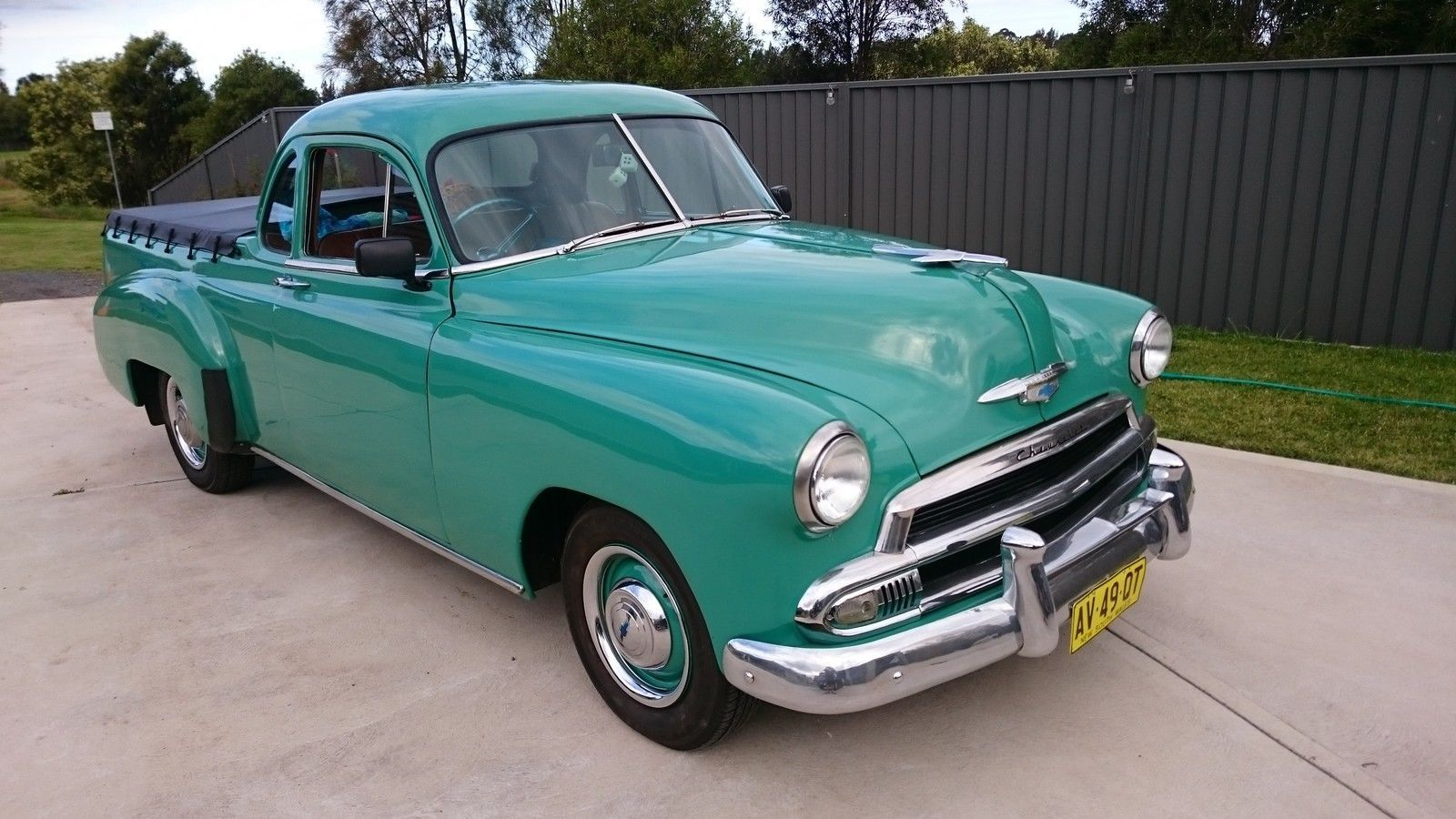 1951 Chev UTE R H Drive in NSW Australian cars, Ute