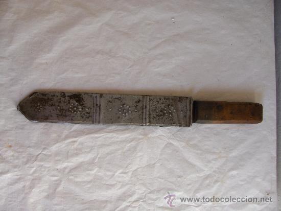 Cuchillo Ingles Antiguo Marca Marsh Brothers Co Sheffield 4 5