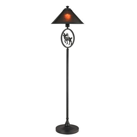 Mica moose floor lamp shopko
