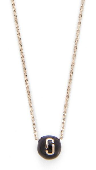 Marc Jacobs Necklaces, Silver, Stainless Steel, 2017, One Size