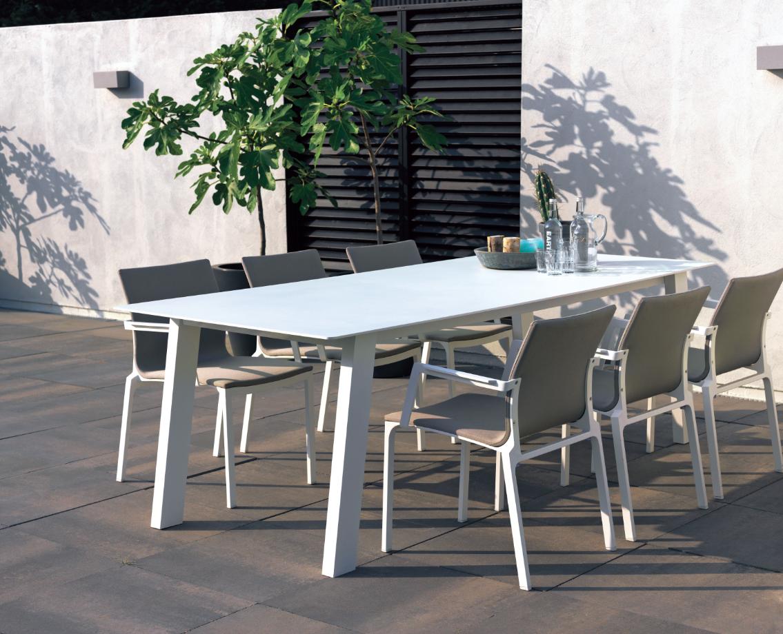 Mobilier de #jardin #Truffaut | Vivre au jardin | Table, Mobilier ...