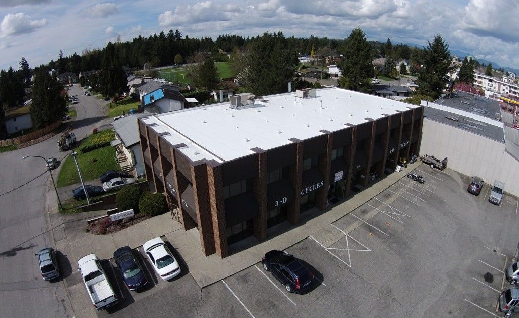 Commercial Roof in Abbotsford – Clearbrook Road. http://www.evoroofing.ca | 604-722-9981 | info@evoroofing.ca