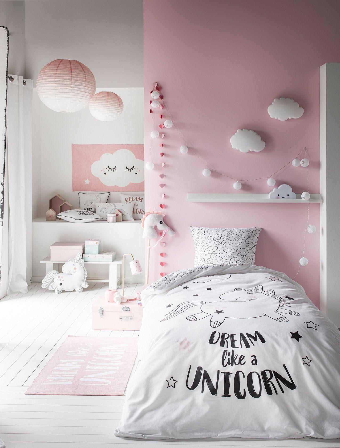 Licorne  Idees deco chambre fille, Deco chambre, Deco chambre