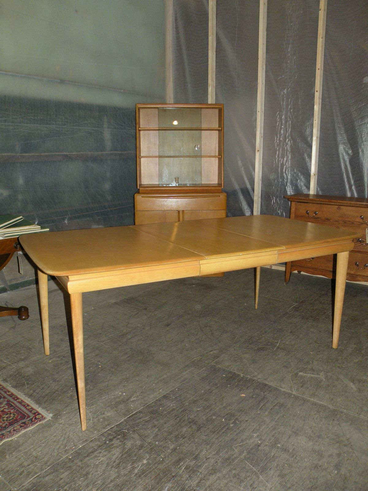 Mid Century Modern Heywood Wakefield Encore Junior Extension Dining Room Table