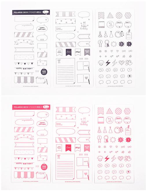 MochiThings.com: Instax Deco Sticker v5