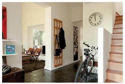 Perchero moderno modular en paraiso macizo dise o decoracion recibidor pinterest Perchero entrada recibidor