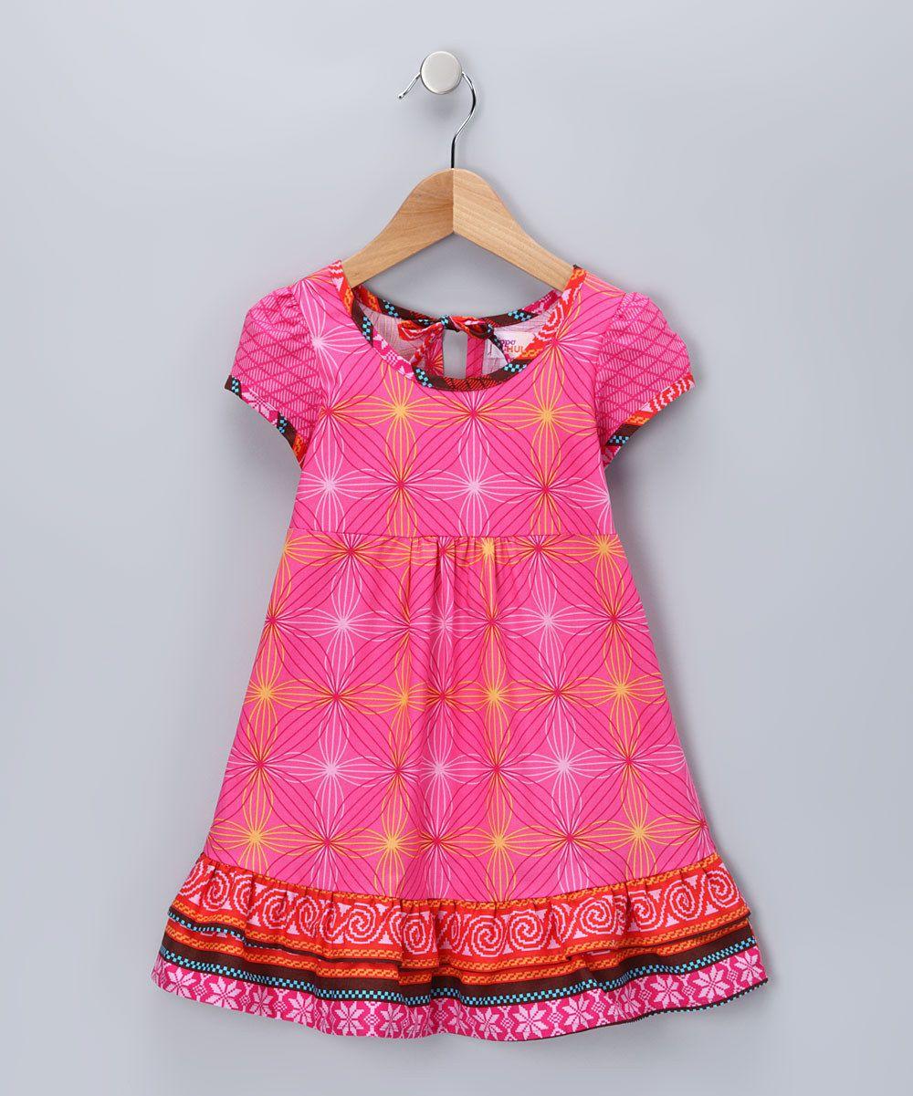 Fuchsia Melanie Dress - Infant, Toddler & Girls