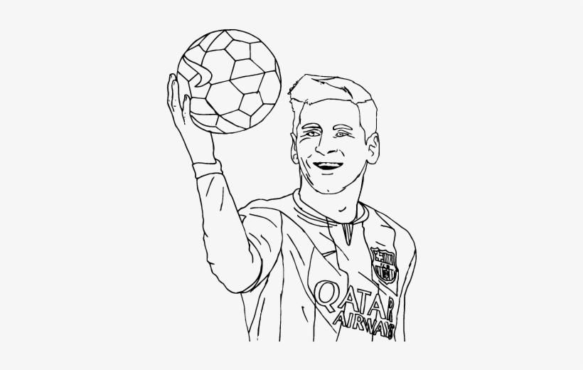 51 Coloring Pages Lionel Messi Di 2020