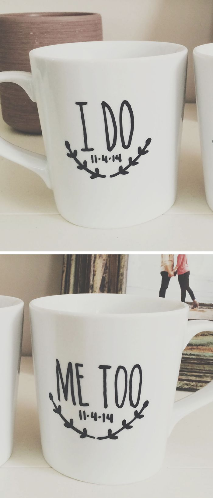 Custom Wedding Coffee Mugs