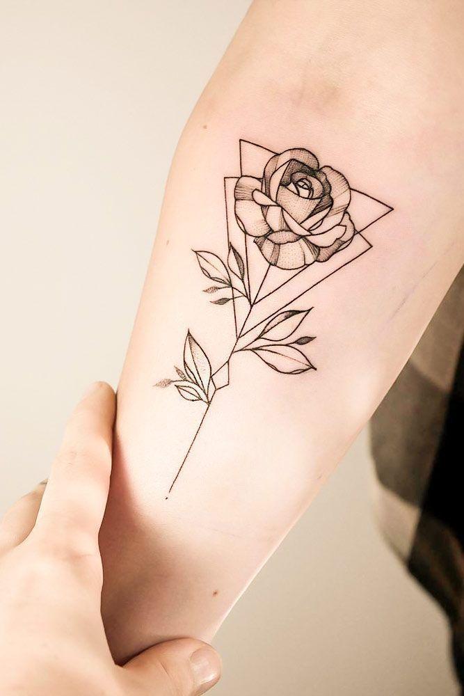 24 Ideen für geometrische Tattoos mit einzigartigen Bedeutungen – Tattoos – # …. - Best Tattoos