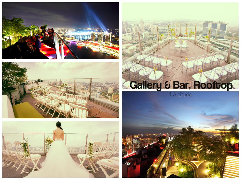 1 Altitude Rooftop Bar Bangkok Unique Wedding Venues Rooftop Bar
