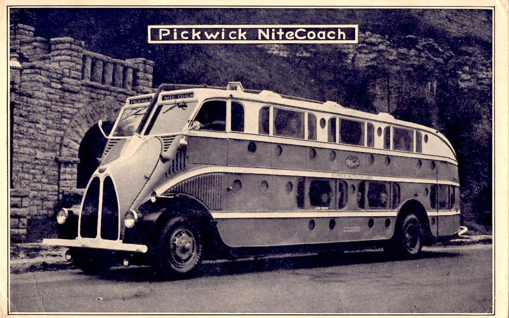 Pickwick NiteCoach Bus