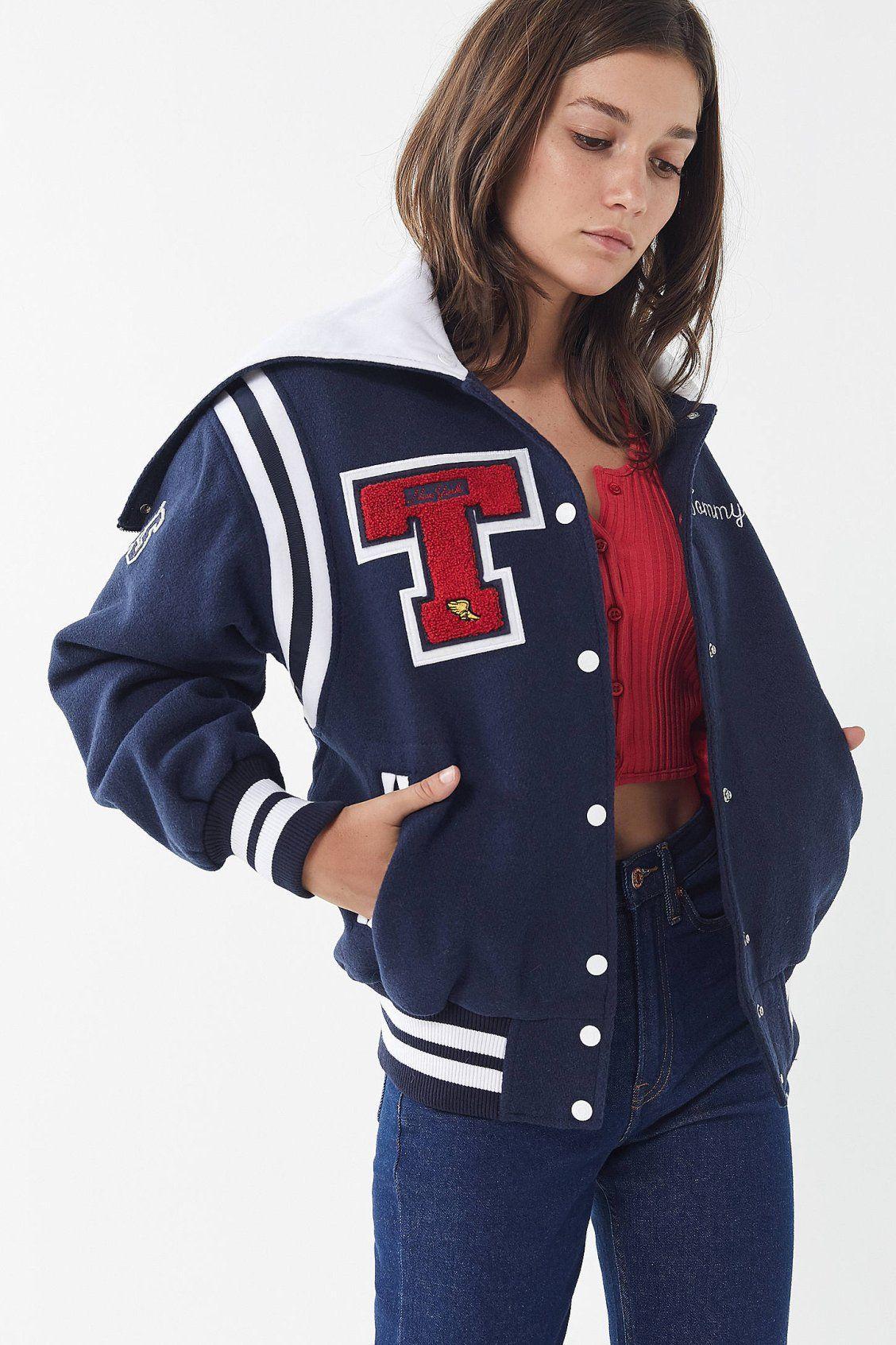 9ac0e6be Tommy Jeans New York Varsity Jacket | New Arrivals | Varsity jacket ...