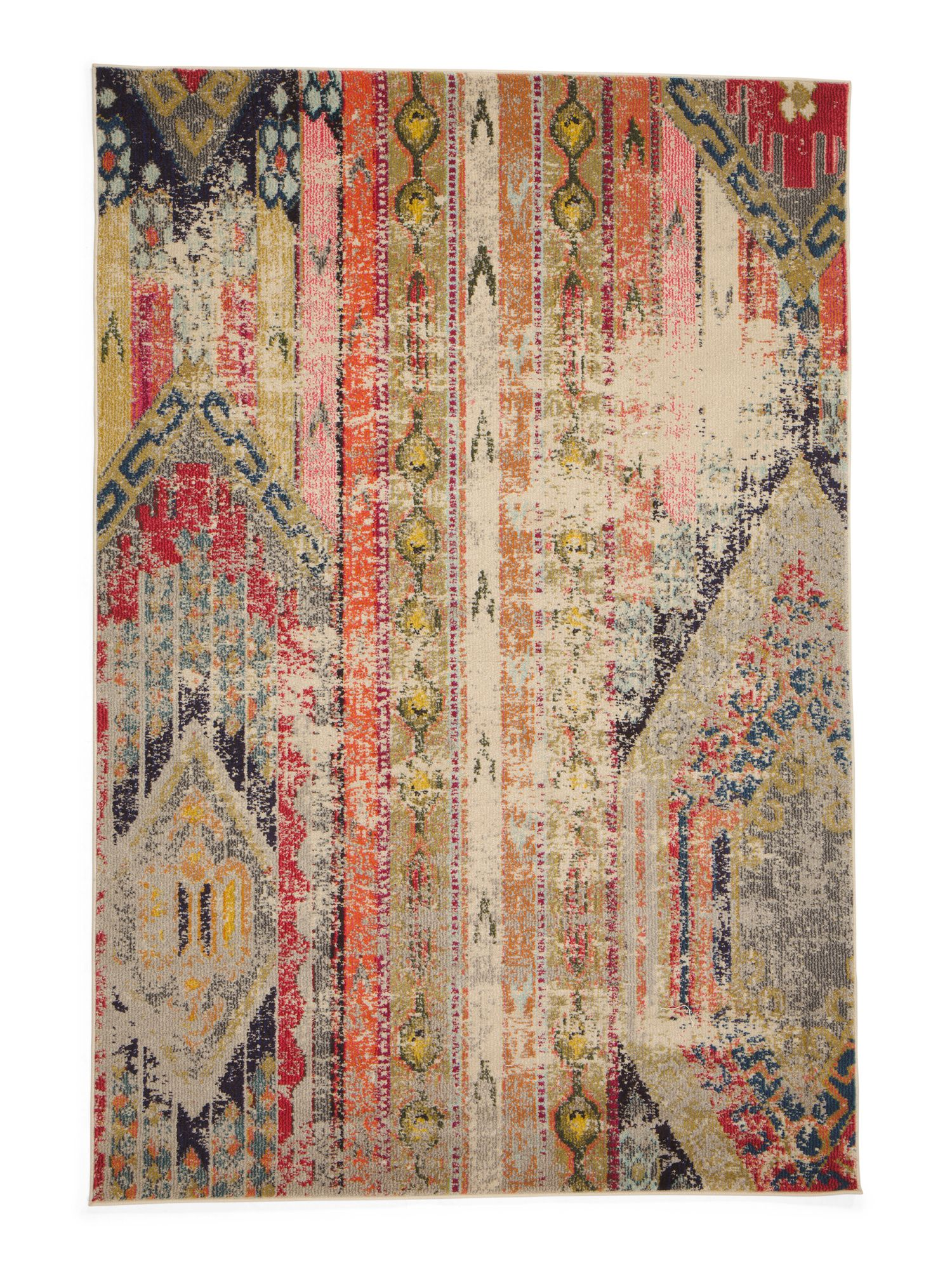 Made In Turkey 5x7 Abstract Area Rug Rugs T J Maxx Area Rugs