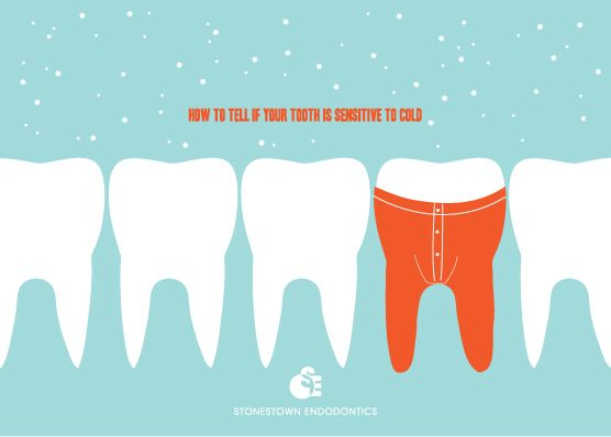 So cute! Sensitive teeth can be a sign of a bigger problem though. Make sure to talk to your dentist about your sensitivity. #DeltaDental