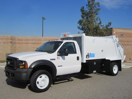 2006 Ford F 550 Wayne 8 Yard Rear Loader Garbage Truck For Sale By Prince Motors Trucks For Sale Garbage Truck Trucks
