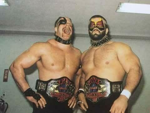 Road Warriors - AWA World Tag Team Champions | Pro wrestling, The road warriors, Warrior