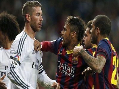Berita Bola Neymar Memuji Sergio Ramos Sebagai Bek Tangguh