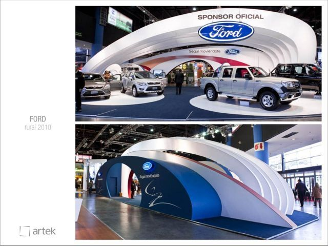 Car Expo Standsaur : Tradeshow exhibit stand design auto show layout