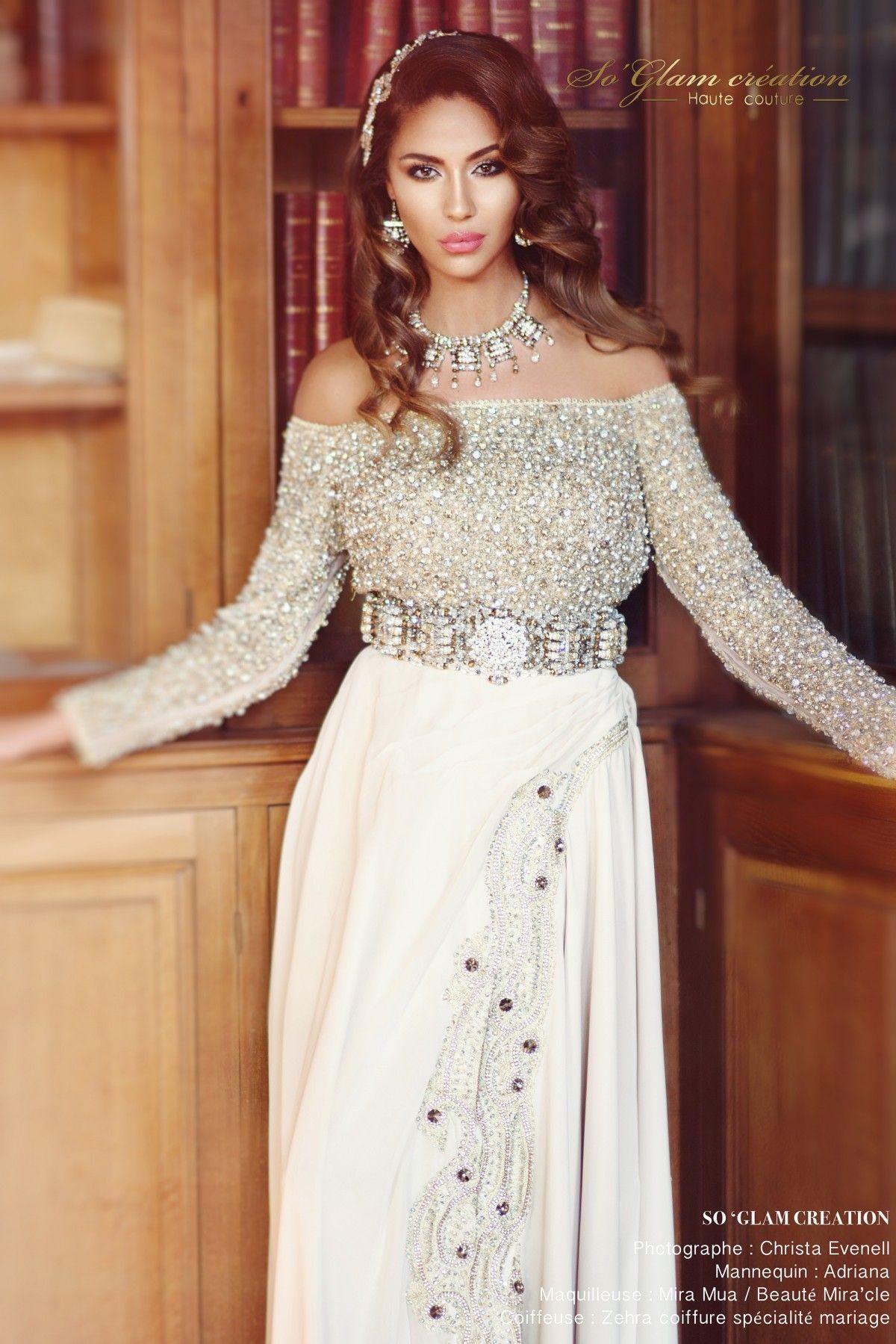 Connu Caftans Mariées en location   So Glam Création Haute couture  YR43