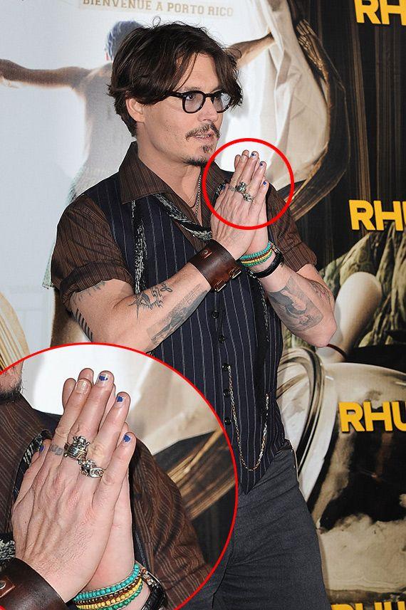 Los hombres también se pinta las uñas | Decoración de Uñas ...
