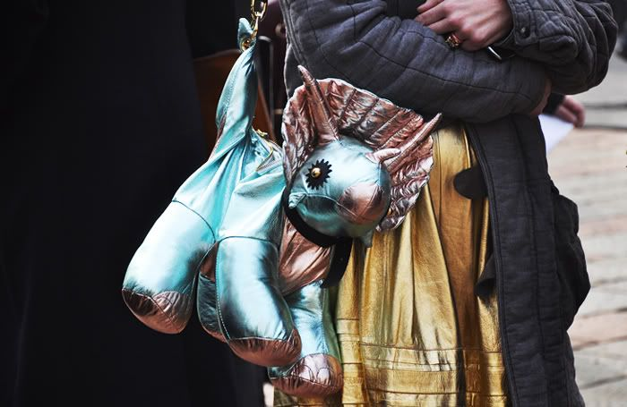 Giles Deacon dino bag