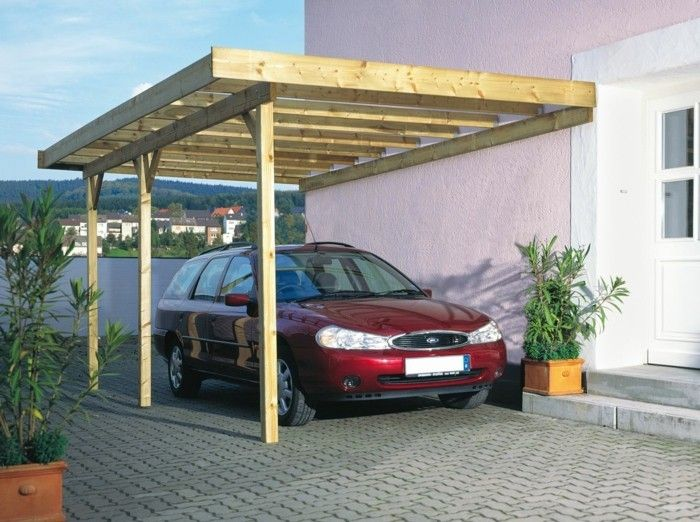 Einzigartig carport selber bauen tollen carport aus holz selber bauen  DP37