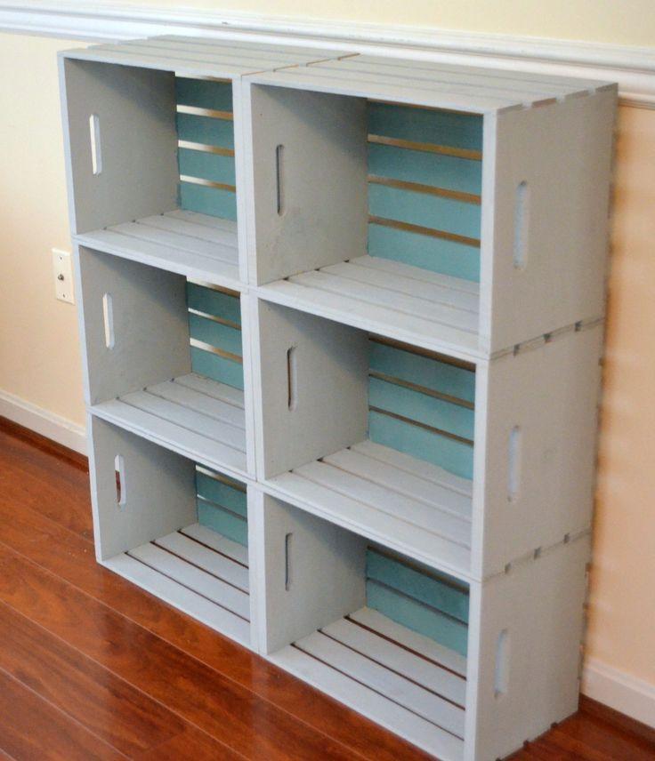 Photo of DIY Crate Bookcase – Amy Latta Creations