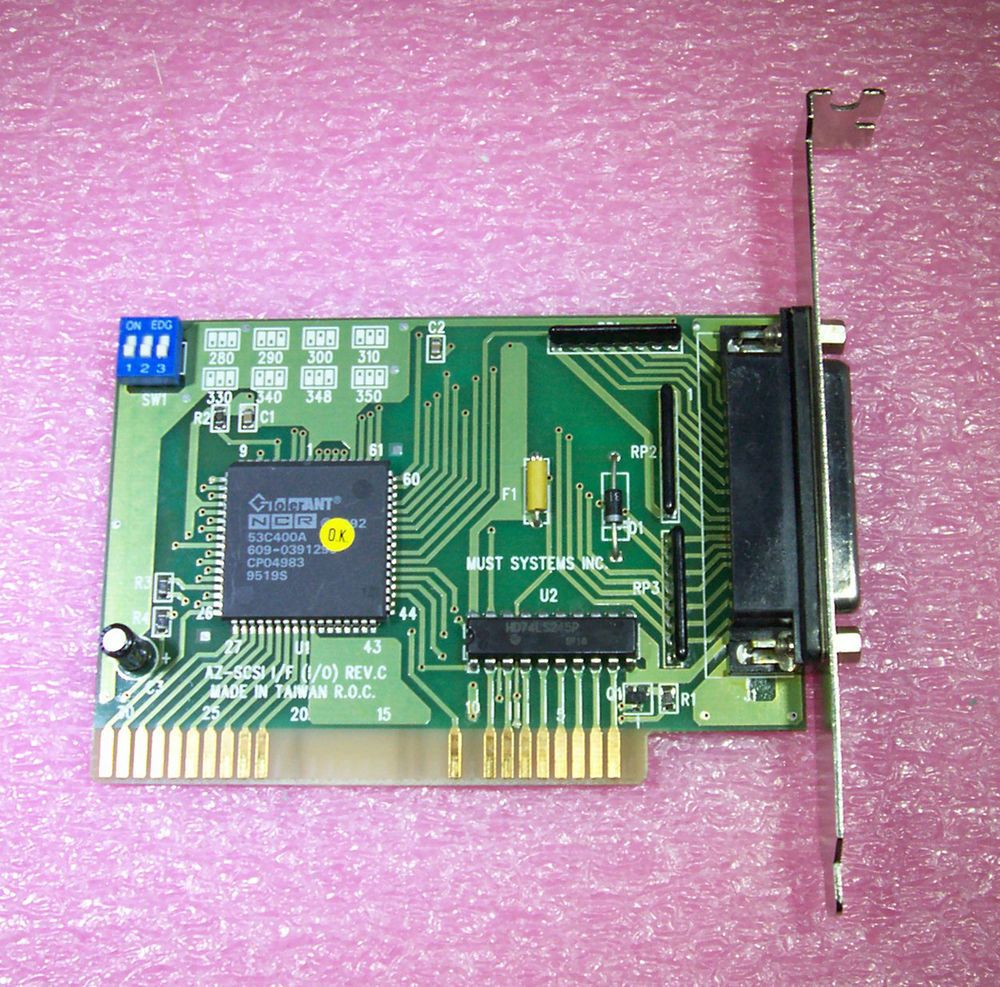 Isa networks inc - Details About Must Systems Inc Isa Scsi Card Az Scsi I F I O Rev C Nec 53c400a Chipset