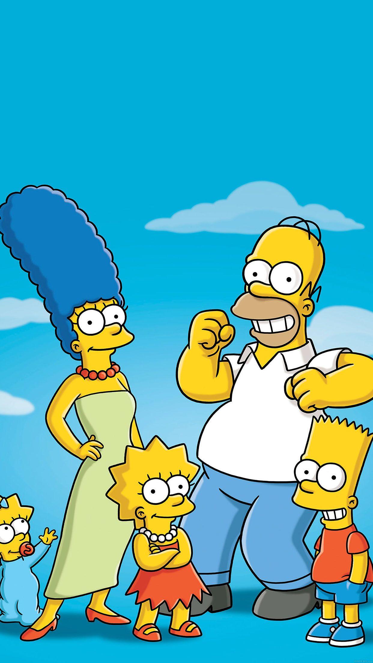 Simpsons Cartoon Wallpaper  WallDevil